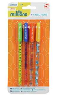 Minions Gel Pens at Argos for 9p