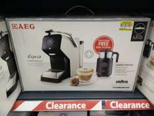 AEG Lavazza Amoda Mio coffee machine £25.90 instore @ Tesco