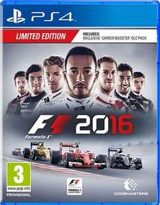 F1 2016 Limited Edition £29.99 @ Game