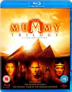 The Mummy Trilogy (Blu Ray) £7.43 @ eBay/grabadealuk