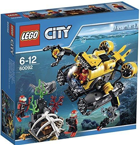 LEGO 60092 City Explorers Deep Sea Submarine at Amazon @ £14.48 (+£4.97 delivery non prime or free del over £20)