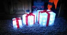 Present lights £18.50 UNBRANDED  HF-YKL194  LED ACRYLIC GIFT BOXES CPC (Farnells)