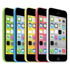 Unlocked Apple iPhone 5C 16GB Factory Smartphone Blue White Pink Green - £135.46 Delivered @ bossdeals ebay