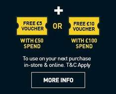 maplin black friday - £5 or £10 voucher for a £50 or £100 spend