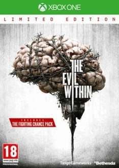 [Xbox One] The Evil Within Limited Edition-£7.99 (Game) plus 10% Quidco cashback