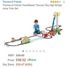 Thomas & Friends sky high bridge jump £56.52 on Amazon with free delivery for Prime members