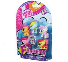 My little pony blister pack of 5 fashems/smashems £6.99 in argos