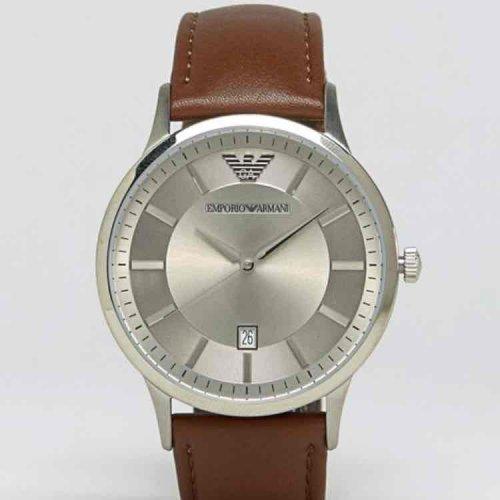 Emporio Armani AR2463 Tan Leather Strap Watch £88.50 @ ASOS