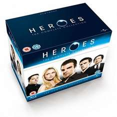 Heroes - Season 1-4 Blu-ray £19.99 @ Amazon/HMV (+£1.99 non prime)