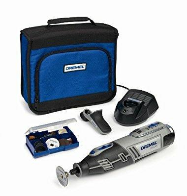 Dremel 8200-1/35 Cordless Multitool Li-Ion (10.8 V), 1 Attachment, 35 Accessories £46.99 @ Amazon
