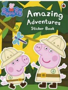 Amazon - 4 for £10 on sticker, story and activity books with free delivery