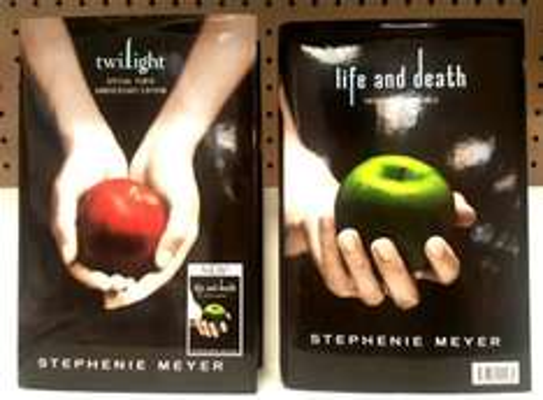 Hardback Life and Death by Stephanie Meyer Twilight 10th Anniversary £1.00 Poundland .