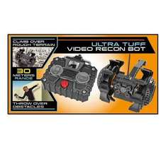 spy net ultra tough video recon bot £19.99 WAS £49.99 @ ARGOS