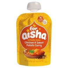 Halal Baby food For Aisha Authentic Indian Chicken & Sweet Potato Curry £1.45 - 4 for £5 Asda