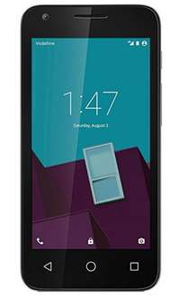 Vodafone Smart Speed 6 Pay As You Go Android Smartphone Handset - Silver £35 Amazon