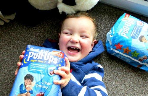 Huggies Pull-Ups Boy/Girl (Various Sizes) Less than Half Price £2 @ Asda Online/Instore