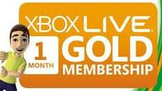 £1 for 1 month xbox live GOLD - via dashboard