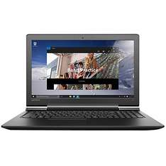 "Lenovo Ideapad 700 Laptop, Intel Core i5, 12GB RAM, 1TB HDD + 128GB SSD, 15.6"" Full HD, Black John Lewis"