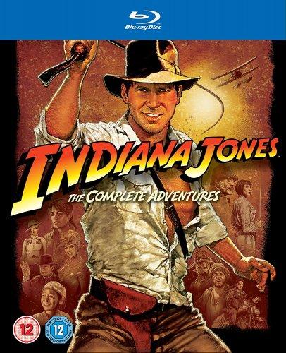 Indiana Jones: The Complete Adventures Blu-Ray £11.99 (£13.98 Non Prime) @ Amazon
