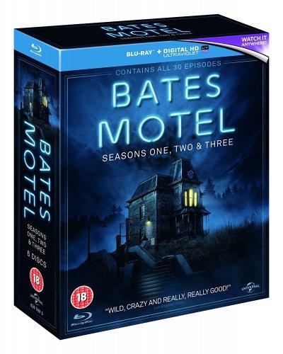 Bates Motel Season 1 - 3 Blu-ray £16.69 (£18.68 Non Prime) @ Amazon