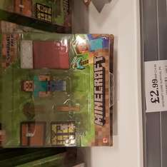 Minecraft Survival Pack was £14.99 now £2.99 instore @ Home Bargains