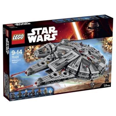 Lego Millenium Falcon 3 for 2 £59.36 Tesco