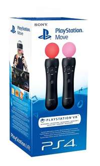 Sony PlayStation Move Motion Controller - Twin Pack will delivery when in stock £58.66 @ Amazon