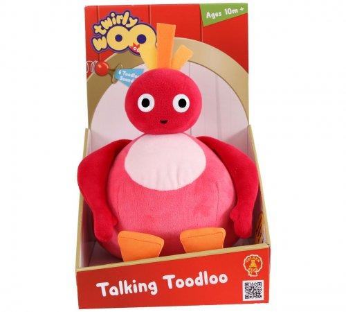 Twirlywoos Talking Toodloo Soft Toy - £5.99 @ Argos 10% Quidco