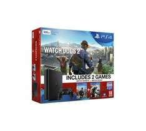 PS4 Slim 500GB Watch Dogs 2 Console Bundle £239.99 @ Argos