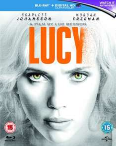 Lucy (Blu-Ray/UVHD)  £3.68 / World War Z: Extended Action Cut (Blu-Ray) £3.69 Delivered (Using Code) @ Zoom (£3.99 @ Amazon with Prime)