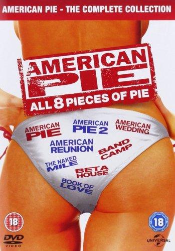 American Pie 1-8 [DVD] £6.99 (Prime) @ Amazon