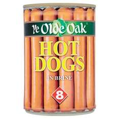 Ye Olde Oak 8 Hot Dogs 68p or (50p) 2 packs for £1 @ Morrisons Online and In store
