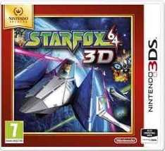 star fox 64 3D (3DS) used/ mario tennis open (3DS) used £7.99 @ Grainger games
