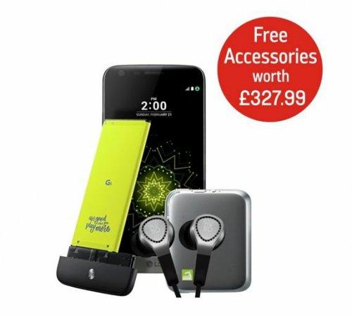 LG G5 bundle @ argos with Hifi plus, B&O H3 and Cam plus £399.95