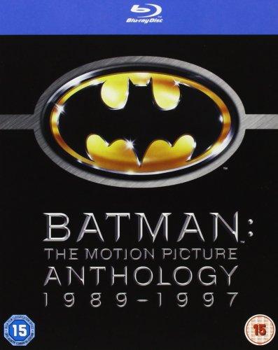 Batman - The Motion Picture Anthology 1989-1997 [Blu-ray] £7.99 (Prime) @ Amazon