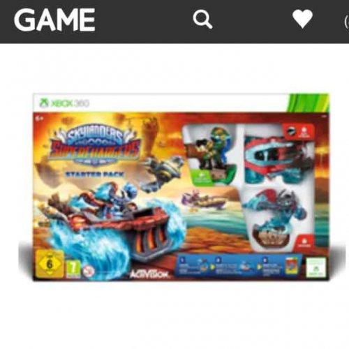 skylanders superchargers starter packs (PS3, 360, wii u, tablet) £4.99 each @ game