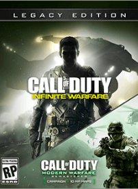Call Of Duty infinite warfare and Cod 4 remaster £30.90 CDKEYS pc