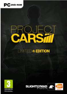 Project Cars Limited Edition PC £12.99 (£12.34 with code) @ CDKeys