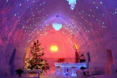 From Luton: Ice Hotel Stay Inc Flights, Hotels & Car Hire £162.08pp @ Ebookers £324.16