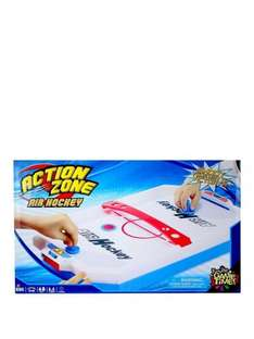 Action Zone Air Hockey £7.99 down from £14.99 and on Buy One Get One Half Price