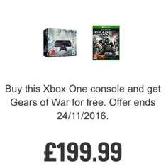 Xbox One 1TB Console with The Division and Gears of War 4 £199.99 @ ARGOS