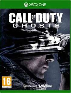 Call of Duty: Ghosts  (Xbox One) £6.99 (New) £7.19 (Preowned) Delivered @ GAME