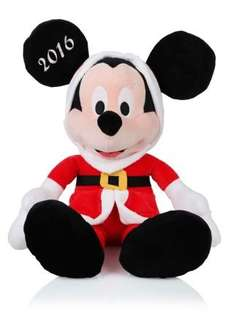 20 inch Christmas Mickey mouse plush now £5 in store at Clintons