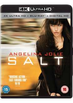 Salt (2 Disc 4K UHD & Blu-ray) 4K Bluray for £17.99 @ Base.com (requires 4K bluray player like xbox one s)