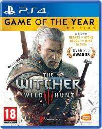 The Witcher 3: Wild Hunt GOTY PS4 £21.99 (Pre-Owned) @ Grainger Games