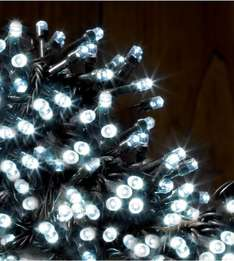 70% OFF LED Xmas Tree Multi-Function Battery Operated Lights 200 (100 & 50 also Available) in White or Coloured LEDs £4.49@ Studio.co.uk (FREE P&P available New Accounts)