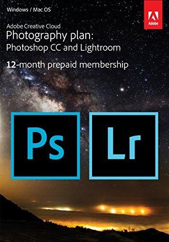 Adobe Creative Cloud Photography Plan 12 months £69.99 @ Amazon