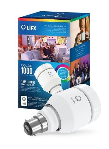 LIFX Colour 1000 WiFi LED Smart Bulb (No hub required) £36.99 @ Amazon