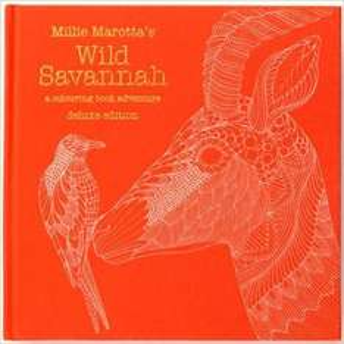 Millie Marotta Wild Savannah Deluxe Edition (Colouring Book) £4 prime or £6.99 non prime from Amazon