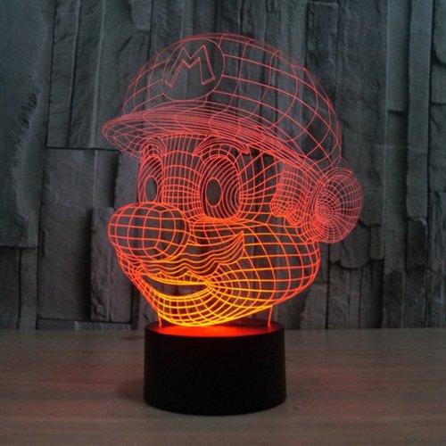 Mario 3D Night / Gaming Room / Desk light £5.99 delivered using code (Poss £4.21) @ Sammydress